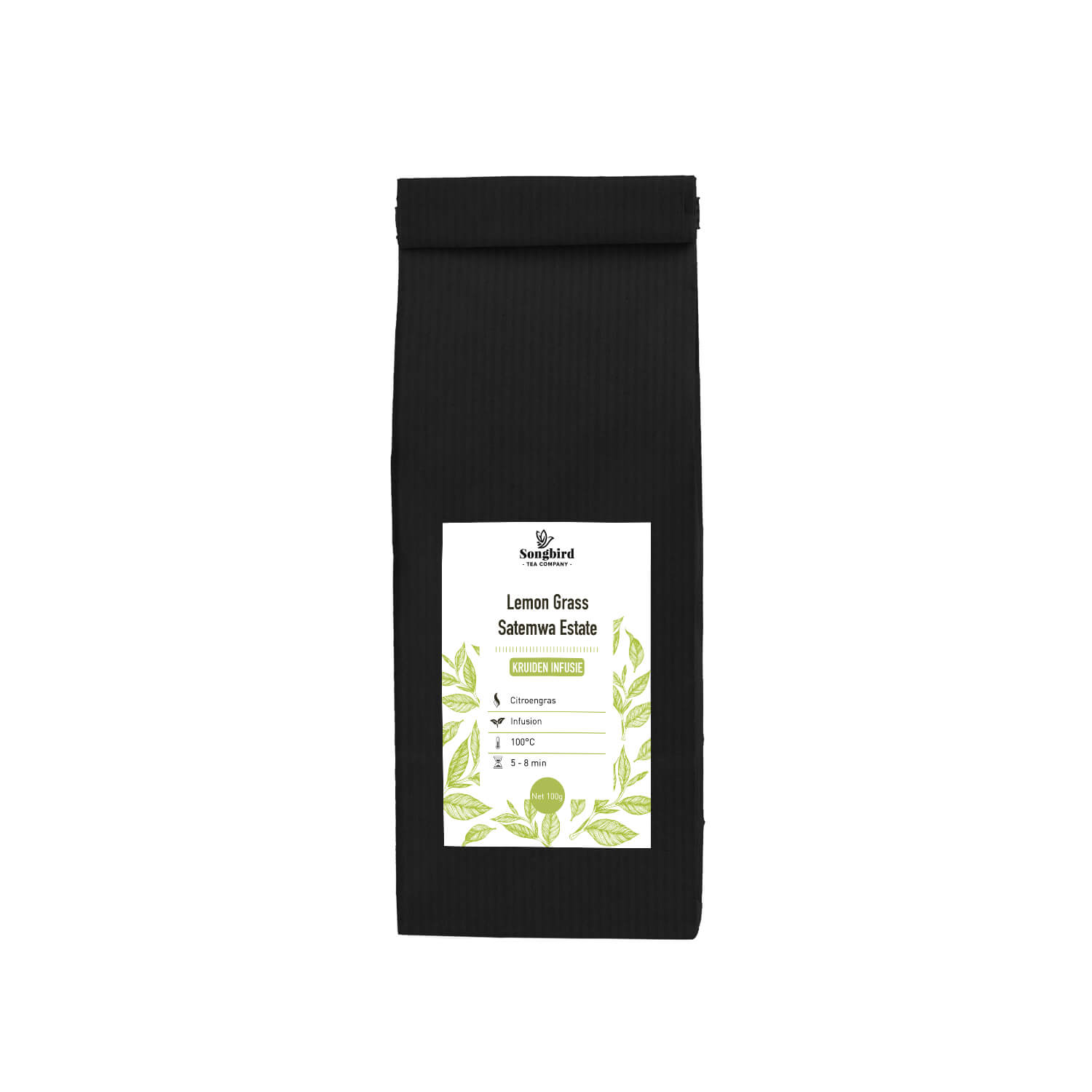Kruiden infusie - Satemwa - Lemon Grass - 100 gr