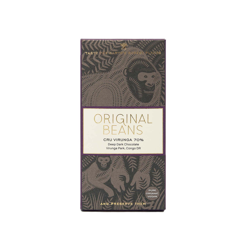 Original Beans - Cru Virunga - Congo - Bio - 70 %