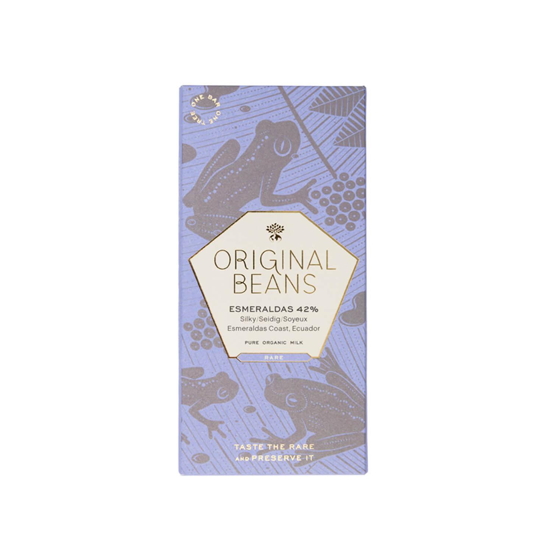 Original Beans - Esmeraldas milk with fleur de sel - 42 %