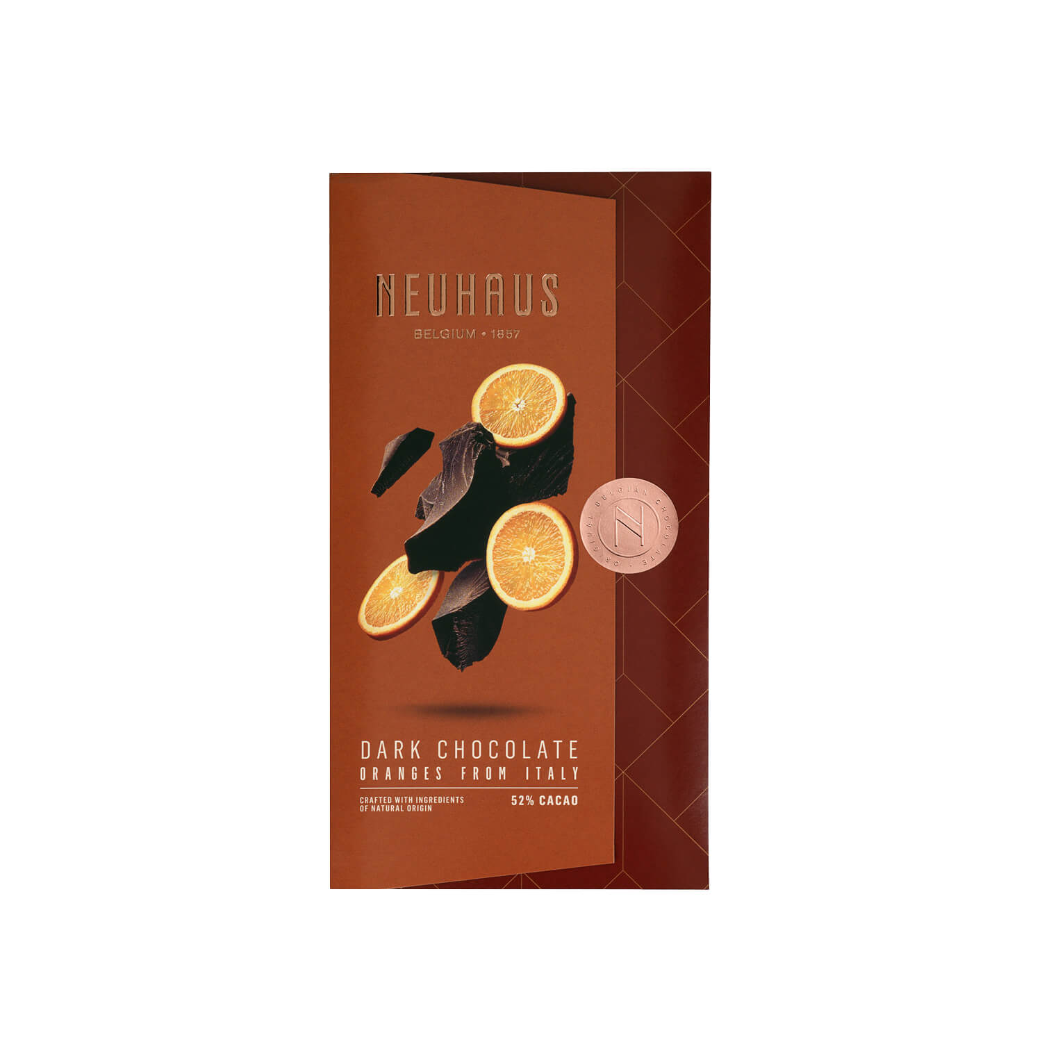 Neuhaus - Tablet - Pure chocolade - Sinaasappel