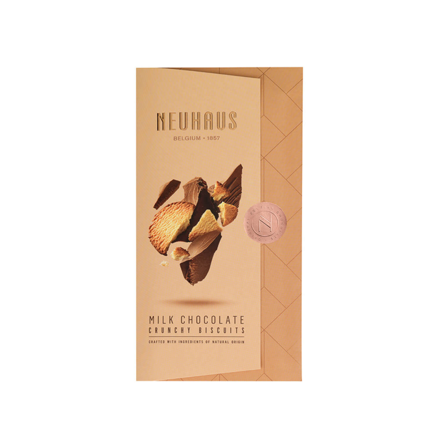 Neuhaus - Tablet - Melk chocolade - Crunchy Biscuits