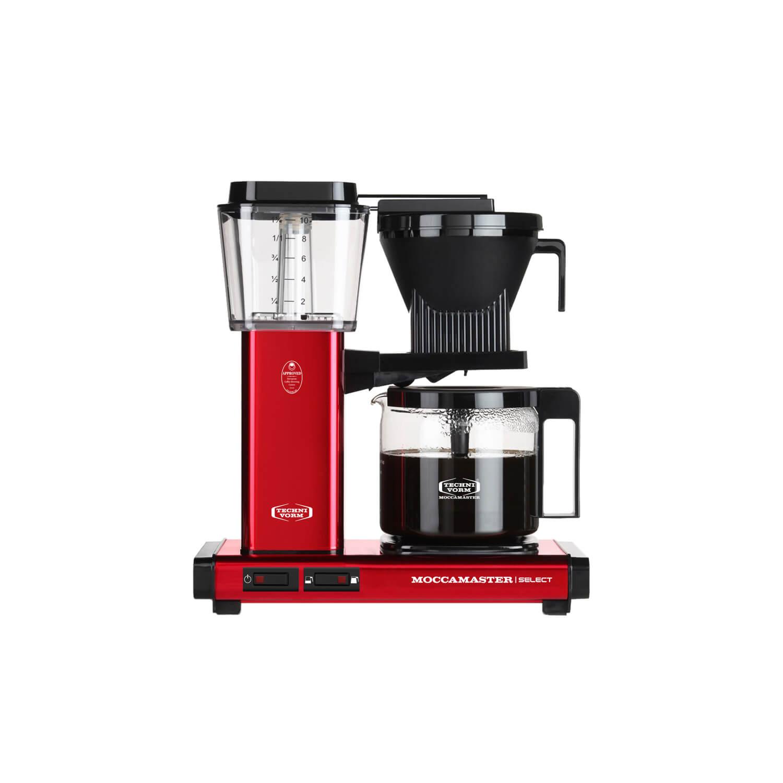 Moccamaster - Koffiezetter - Kbg Select - Red Metallic