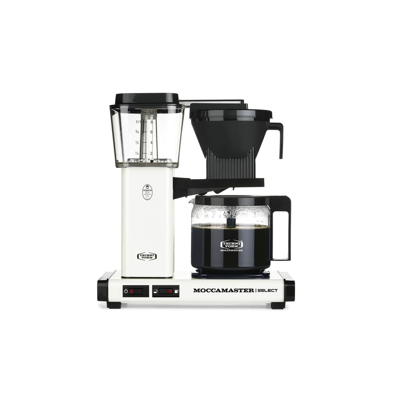 Moccamaster - koffiezetter - KBG Select - Off-White