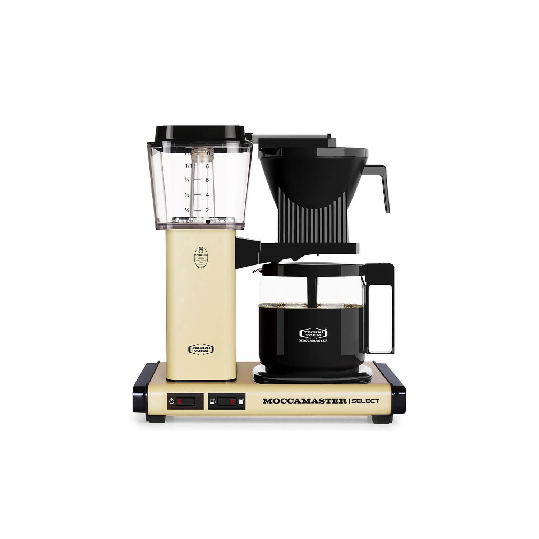 Moccamaster - koffiezetter - KBG Select - Pastel Yellow