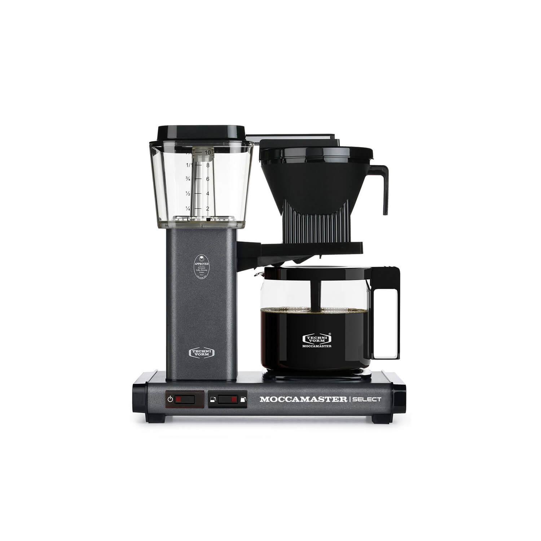 Moccamaster - koffiezetter - KBG Select - Stone Grey