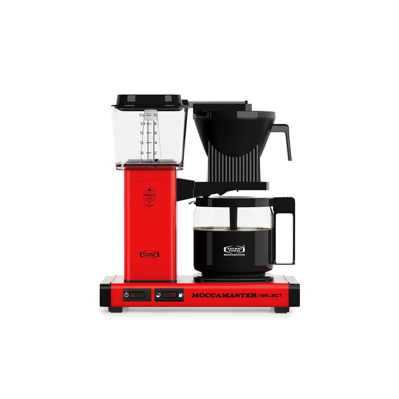 Moccamaster - koffiezetter - KBG Select - Red