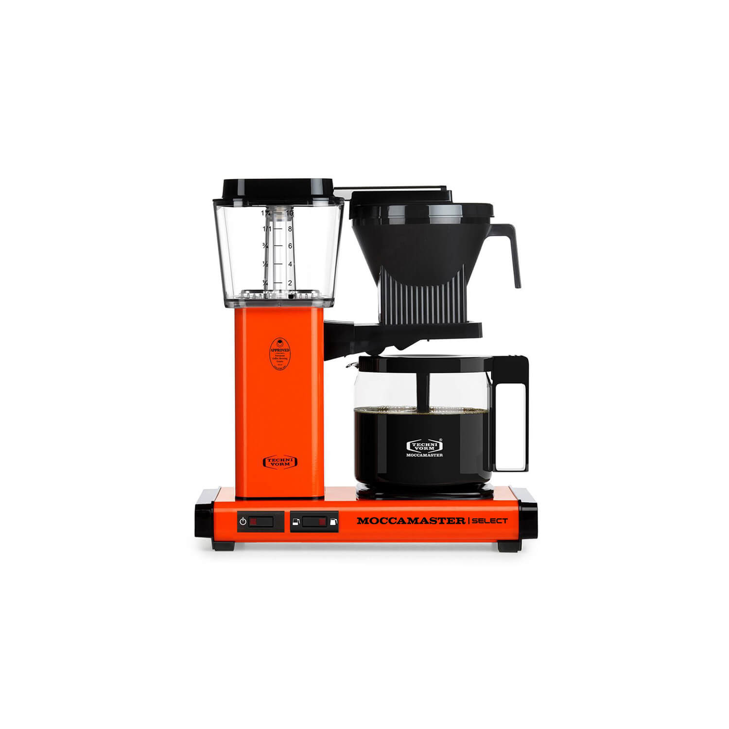Moccamaster - koffiezetter - KBG Select - Orange