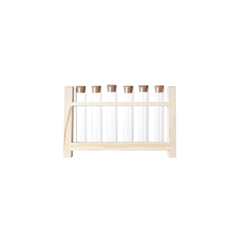 Cosy & Trendy - Tubes met houten houder set met 7