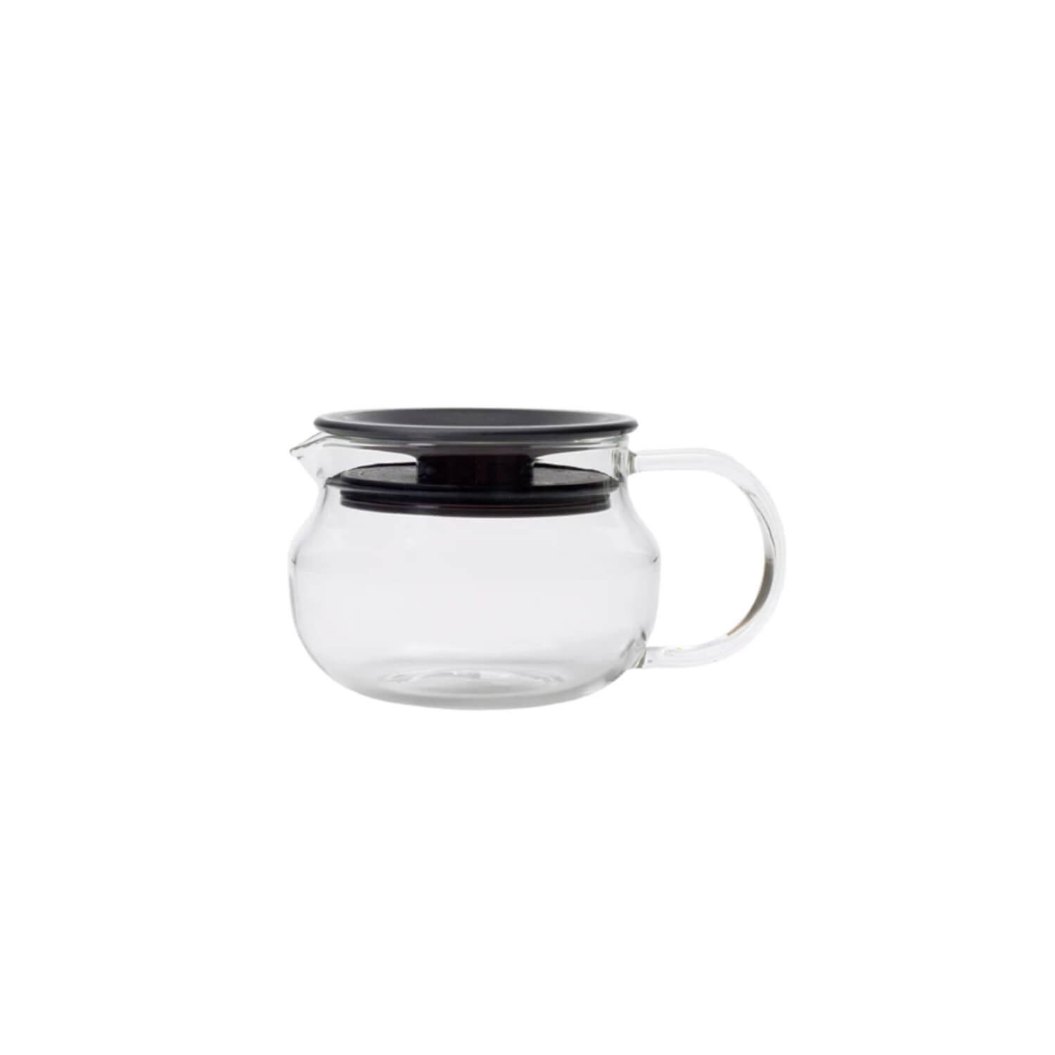 Theepot - Kinto - One touch -  280 ml brown