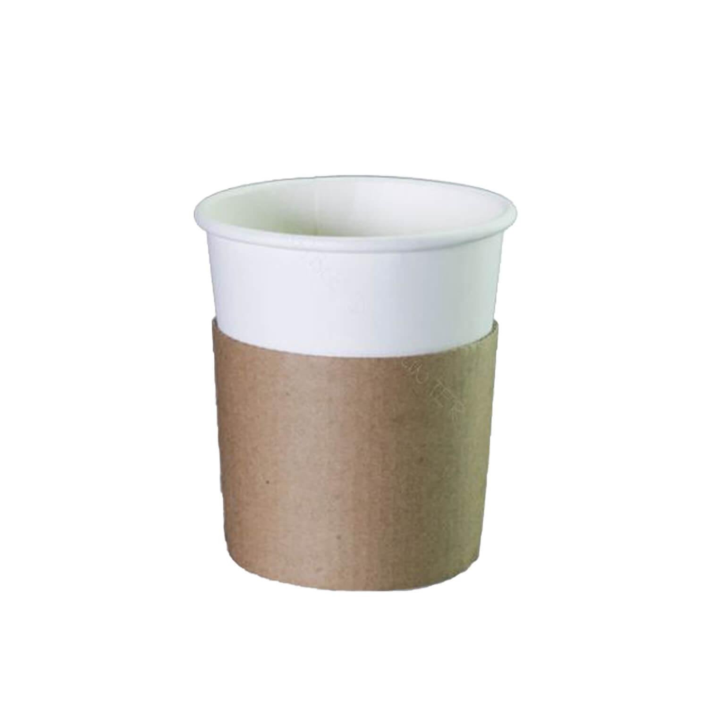 Sleeve - Kraft - Voor 300Ml / 350Ml Koffiebeker - 1000 St