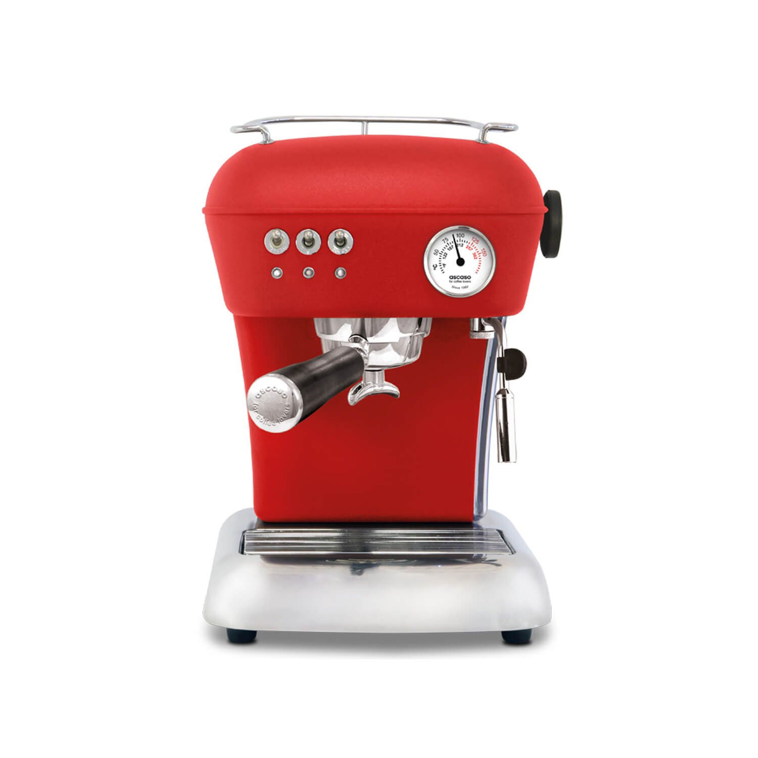Ascaso - Espressomachine - Dream - Mat rood