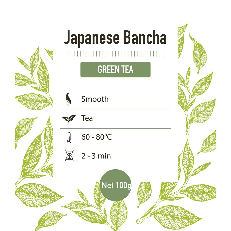 Groene thee – Japan bancha - detail