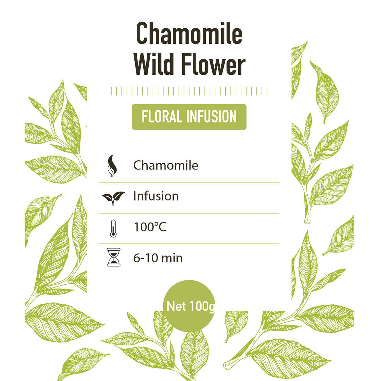 Kruiden infusie – Kamille - detail