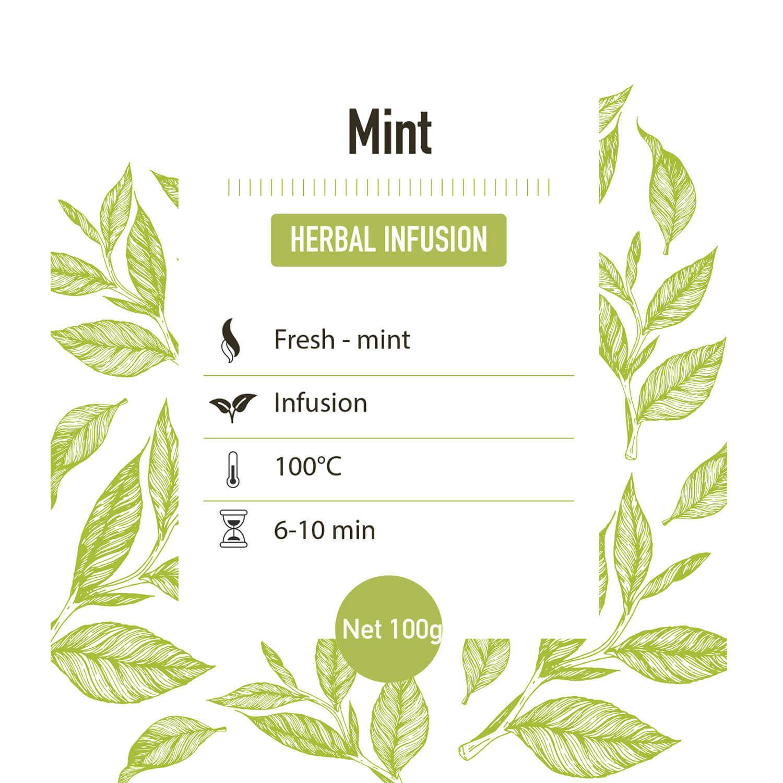 Kruiden Infusie – Munt - Detail