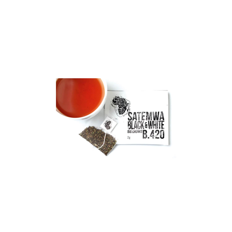 Theebuiltjes - Satemwa - Black & White - 100 st