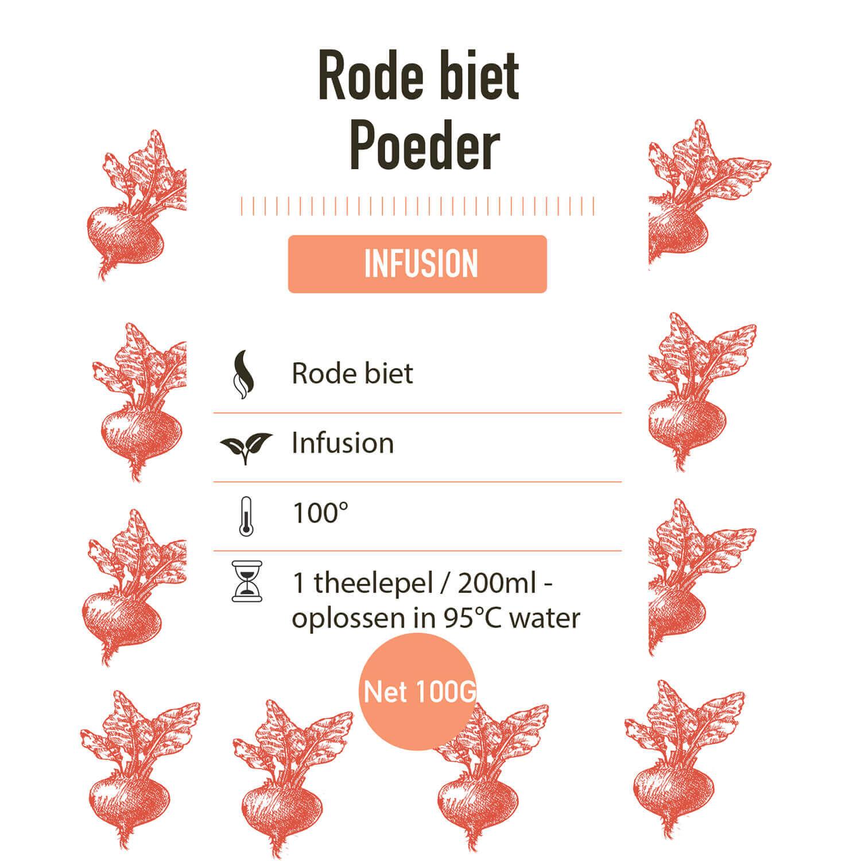 Poeder – Bio – Rode Biet - detail
