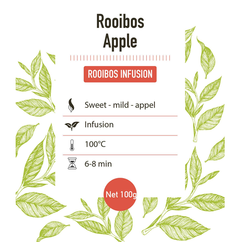 Rooibos - Apple - Detail