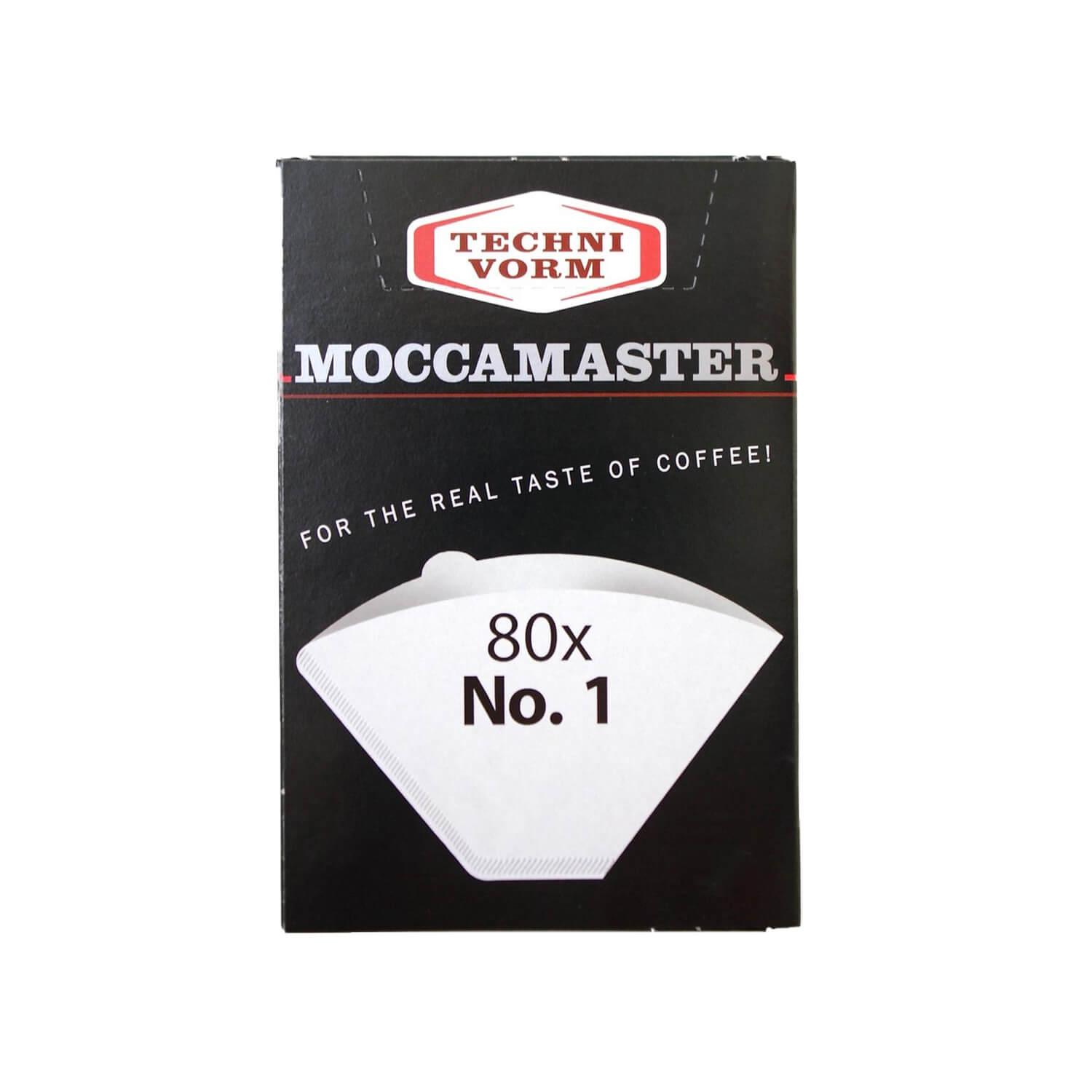 Moccamaster - Filterzakjes - nr. 1 Cup-one - 80 st