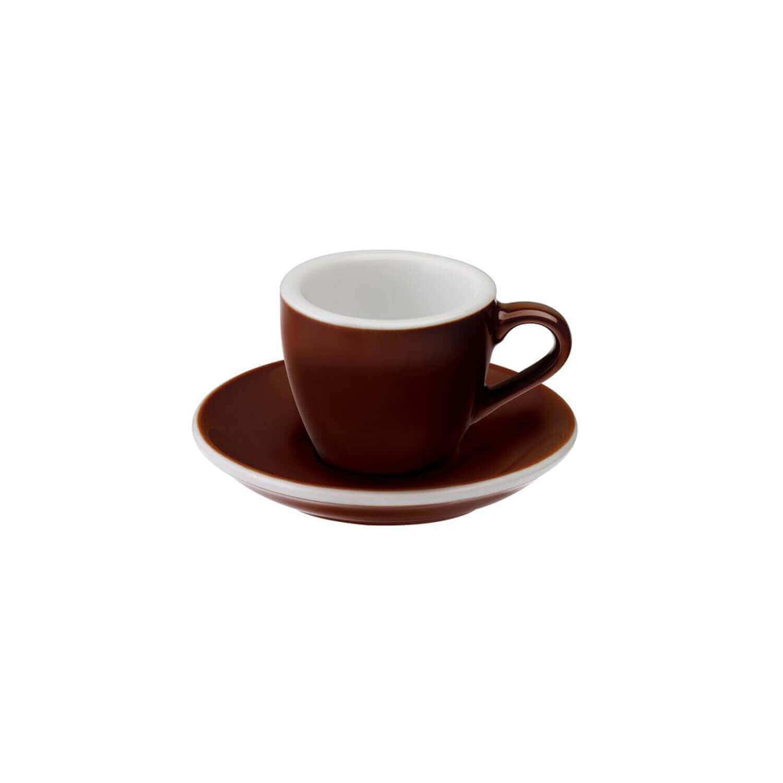 Loveramics - Egg - Espresso Cup - Bruin