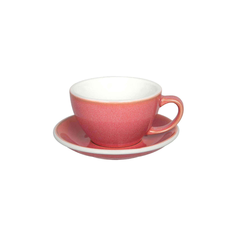 Latte Kop- &Amp; Schotelset - Butter Cup - Berry