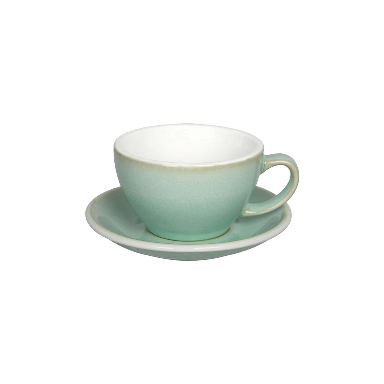 Latte Kop- &Amp; Schotelset - Butter Cup - Basil