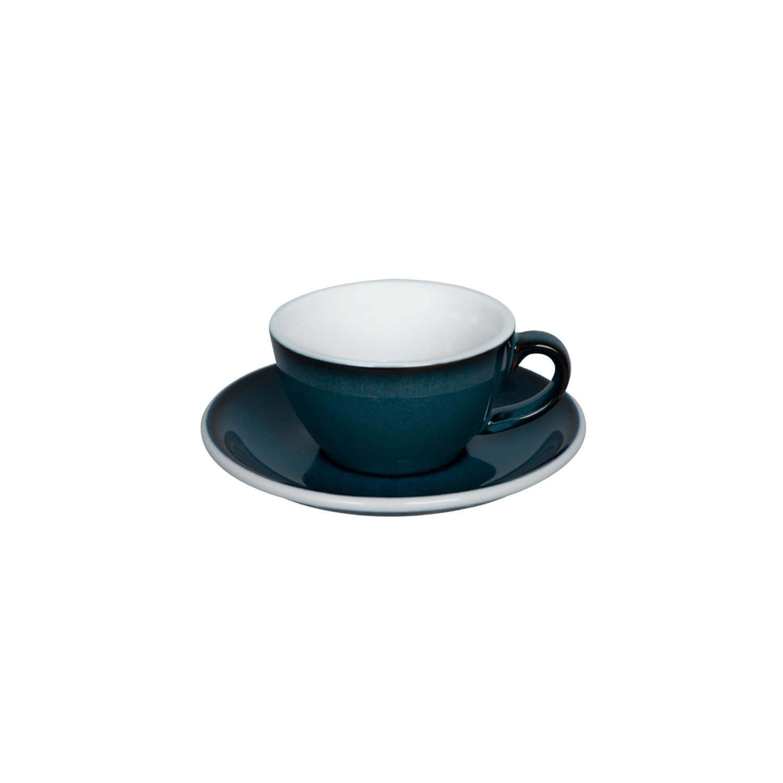 Loveramics - Egg - Flat White Cup - Night Sky