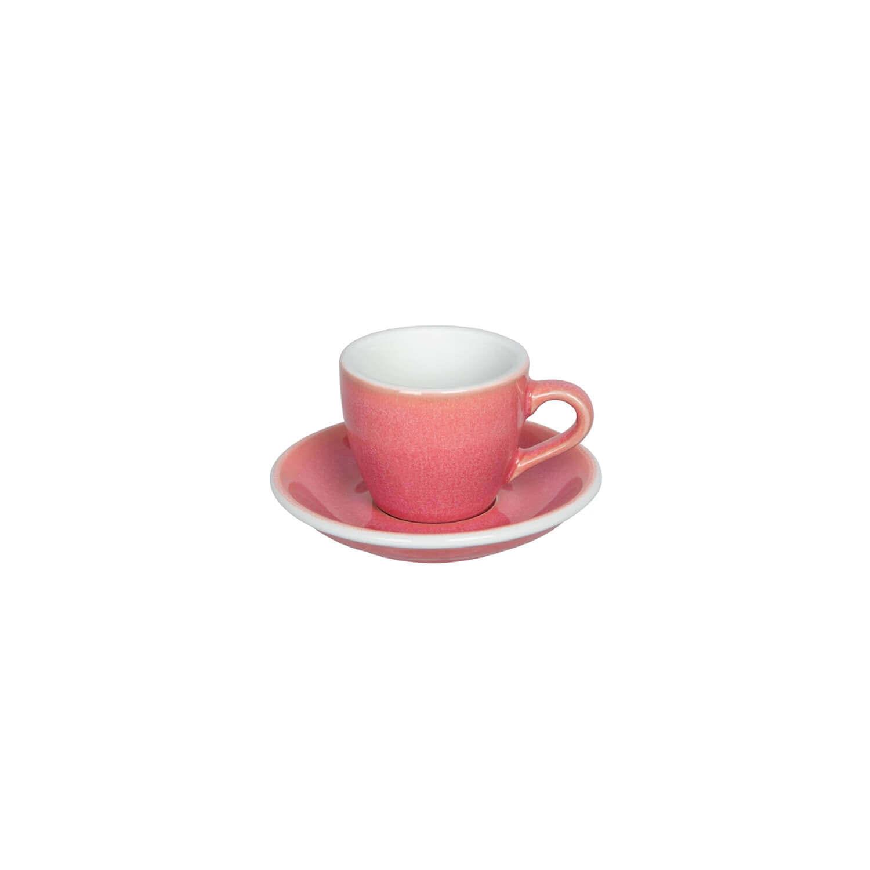 Egg - Espresso Kop- &Amp; Schotelset - Berry