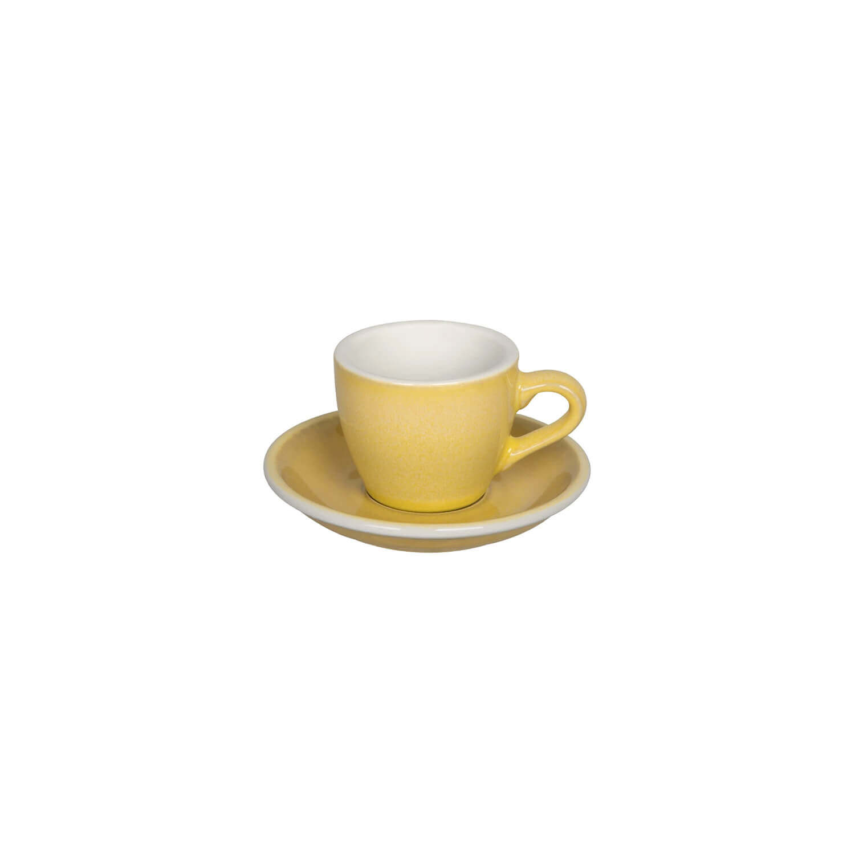 Egg - Espresso Kop- &Amp; Schotelset - Butter Cup