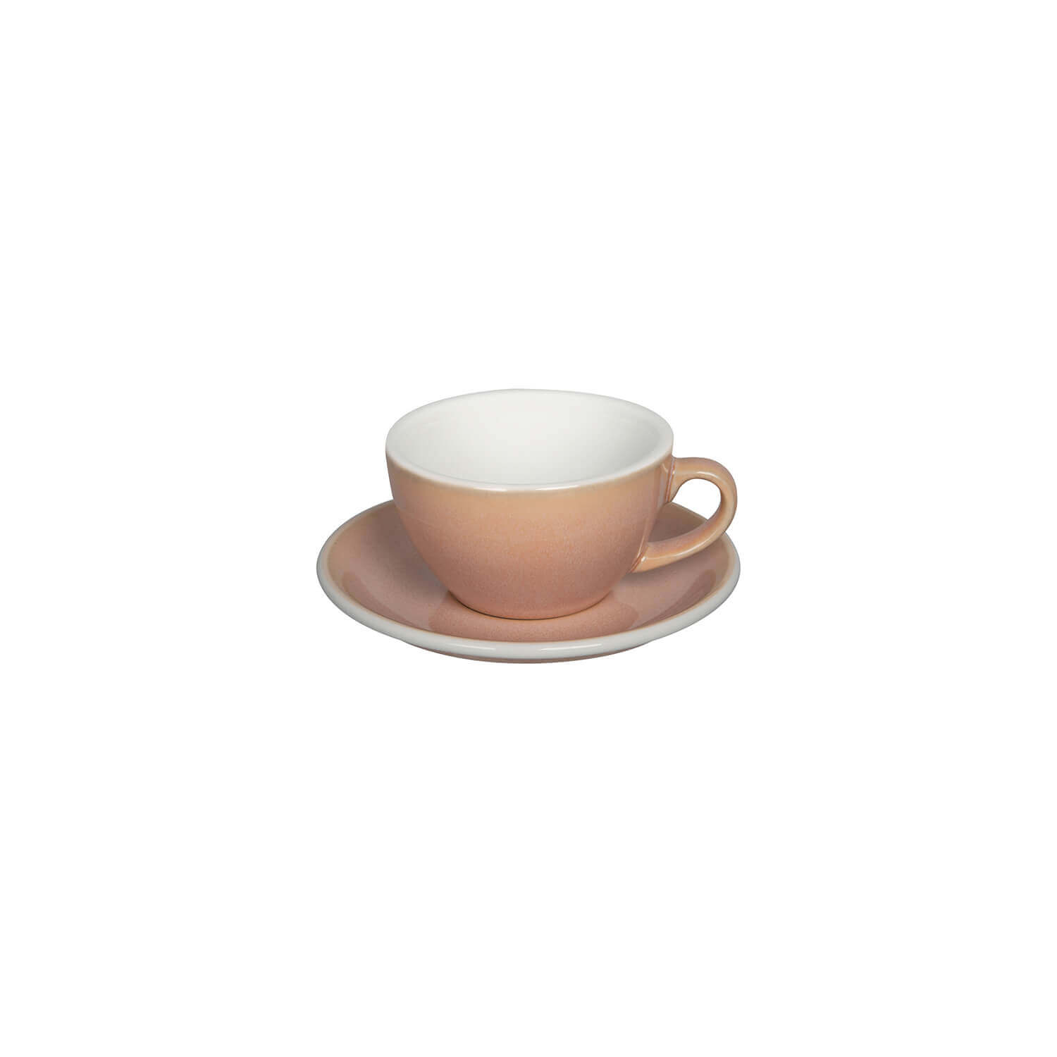 Loveramics - Egg - Cappuccino Set - Rose