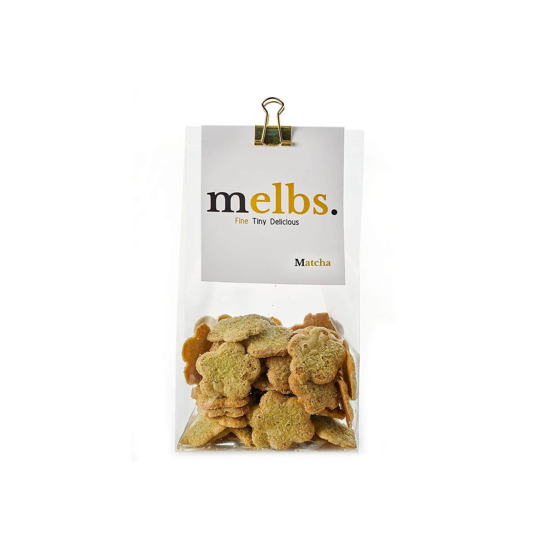 Melbs - Amandelkoekjes - Matcha