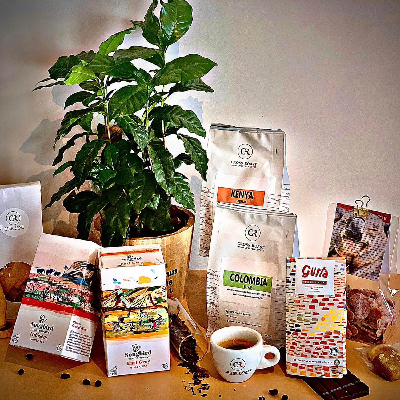 Home Office Box- Coffee, Tea & Sweets - Single origin