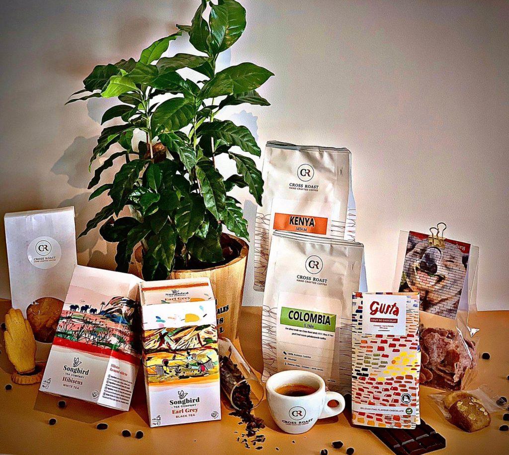 Home office box - Coffee, Tea & Sweets detail
