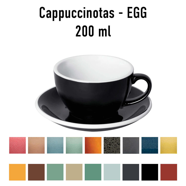 Loveramics – Egg – Cappuccino Kop- &Amp; Schotelset