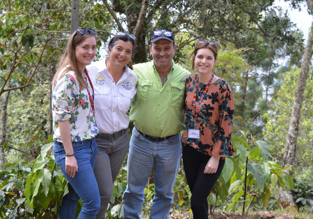 Guatemala – El Peñón - plantagebezoek