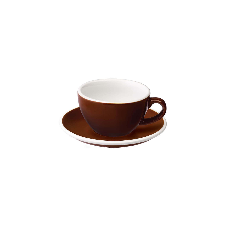 Loveramics - Egg - Cappuccino Set - Bruin