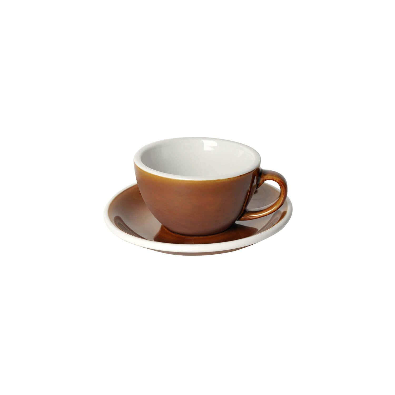 Loveramics - Egg - Cappuccino Set - Caramel
