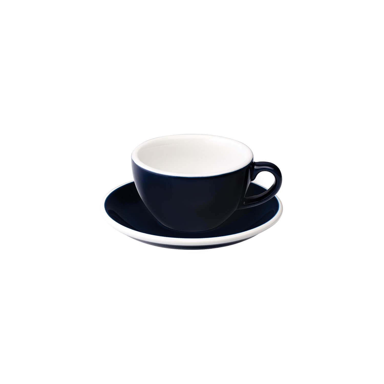 Loveramics – Egg – Cappuccino Kop- &Amp; Schotelset - Denim
