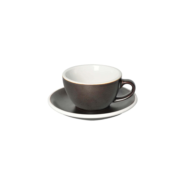 Loveramics – Egg – Cappuccino Kop- &Amp; Schotelset - Gunpowder