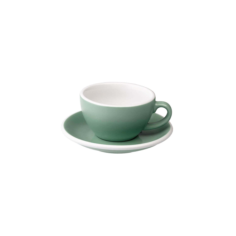 Loveramics – Egg – Cappuccino Kop- &Amp; Schotelset - Munt