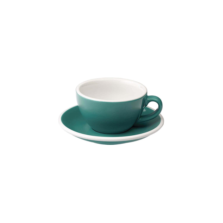 Loveramics – Egg – Cappuccino Kop- &Amp; Schotelset - Teal