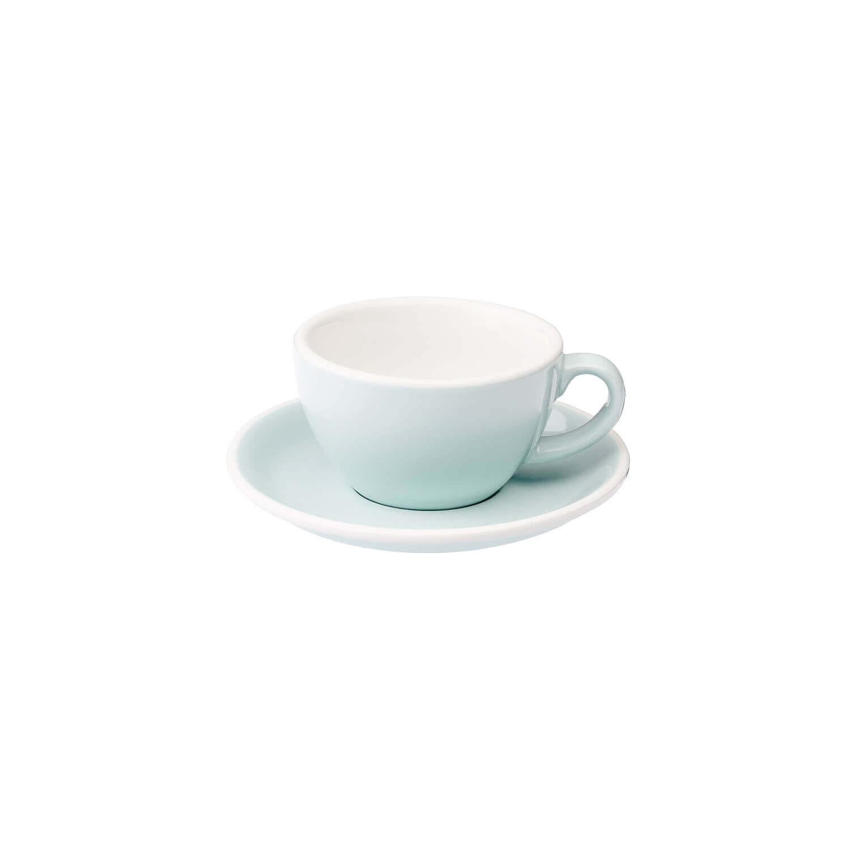 Loveramics – Egg – Cappuccino Kop- &Amp; Schotelset - River Blue