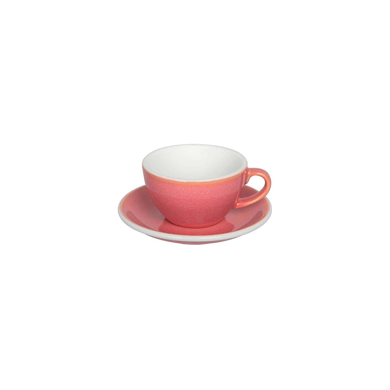 Loveramics – Egg – Cappuccino Kop- &Amp; Schotelset - Berry