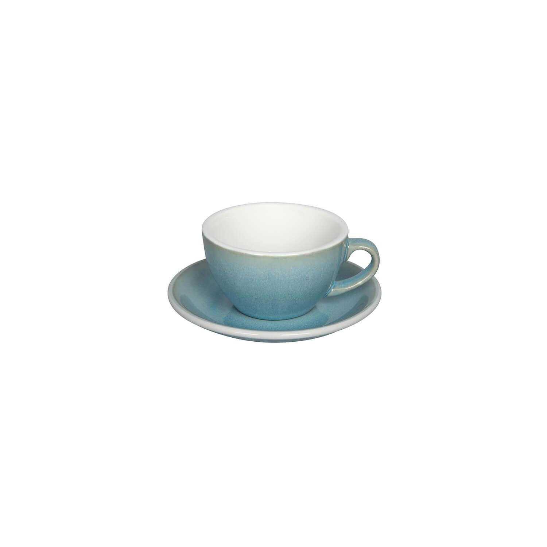 Loveramics – Egg – Cappuccino Kop- &Amp; Schotelset - Ice Blue