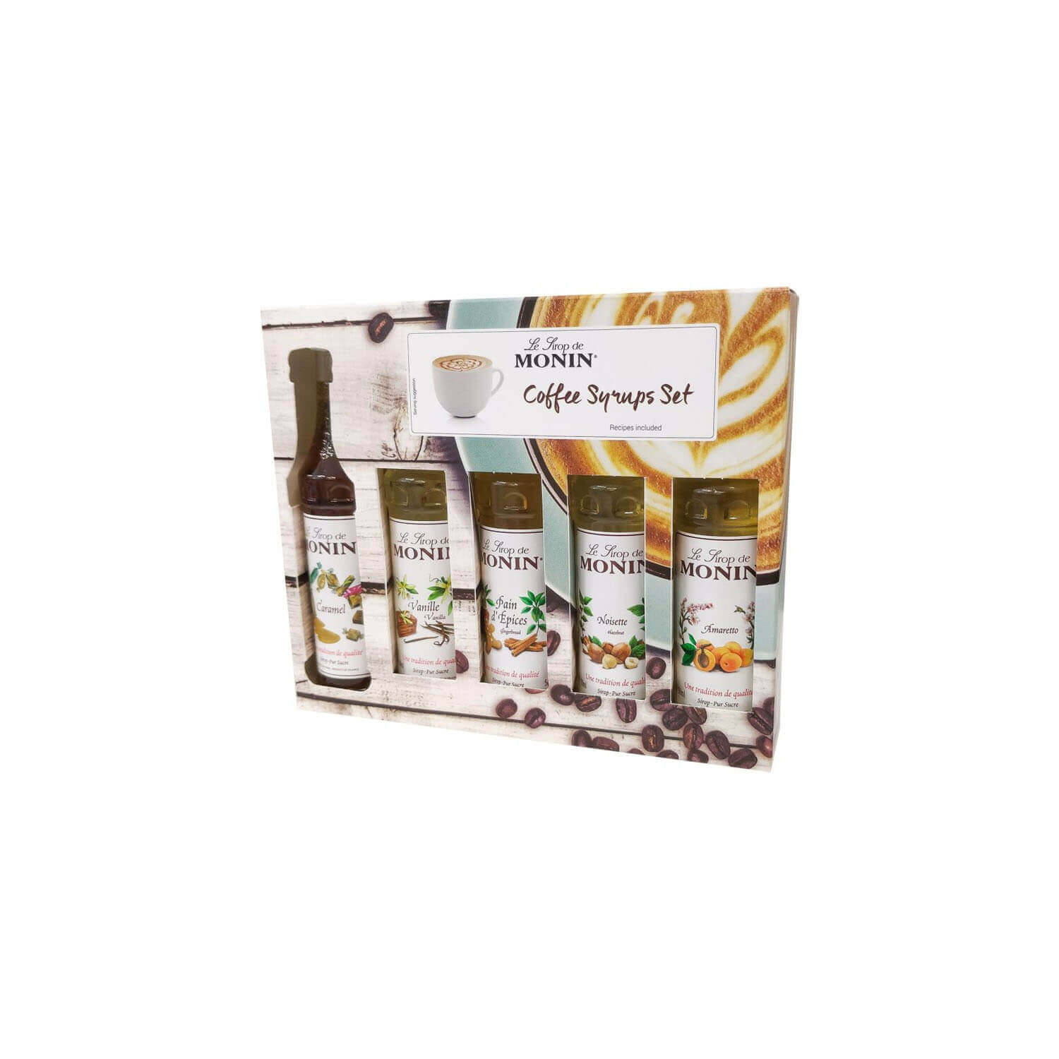 Monin - Siroop - Set 5x - 5 cl