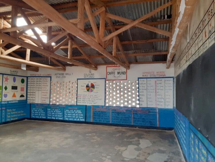 Educatieve Muurschilderingen Basisschool Satemwa Malawi