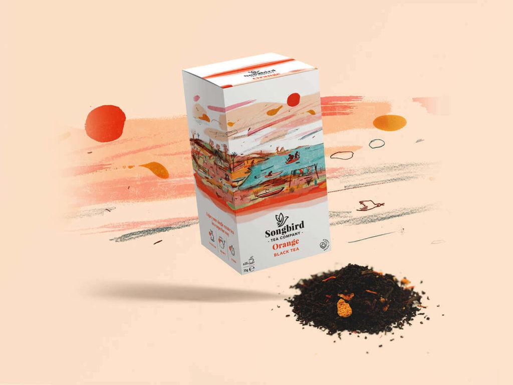 Songbird Tea Company - Orange
