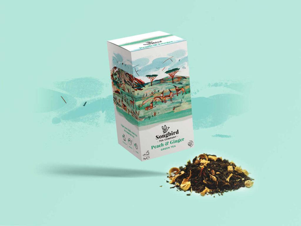 Songbird Tea Company - Peach &Amp; Ginger