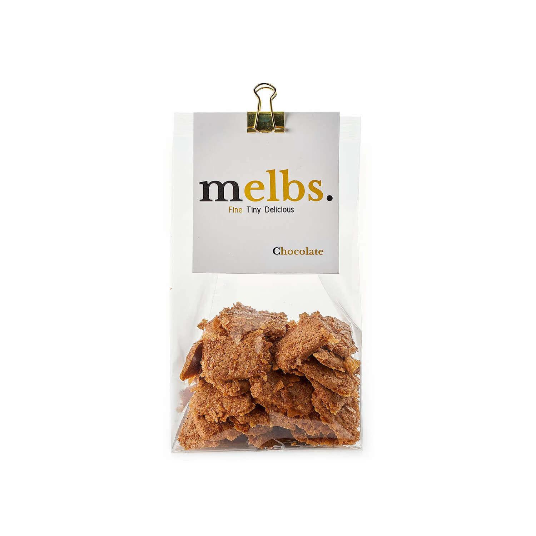 Melbs - Amandelkoekjes - Chocolade