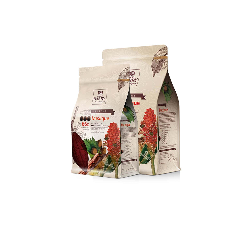 Cacao Barry - Callets - origine Mexico 66% - 1 kg
