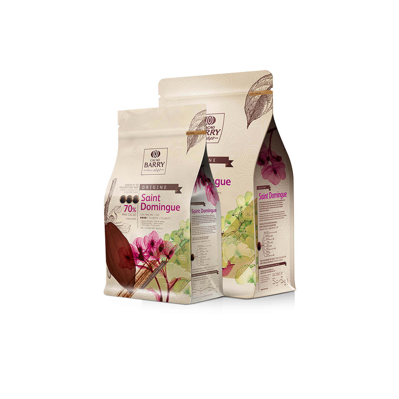 Cacao Barry - Callets - origine Dominicaanse Republiek 70% - 1 kg
